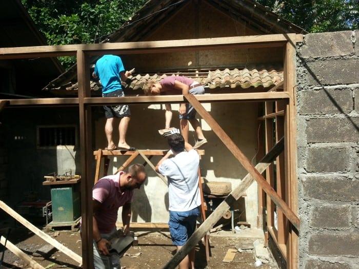 Bau und Renovieren, Bali