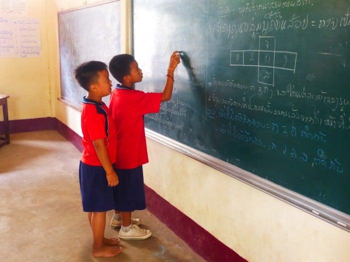 Bildung, Laos