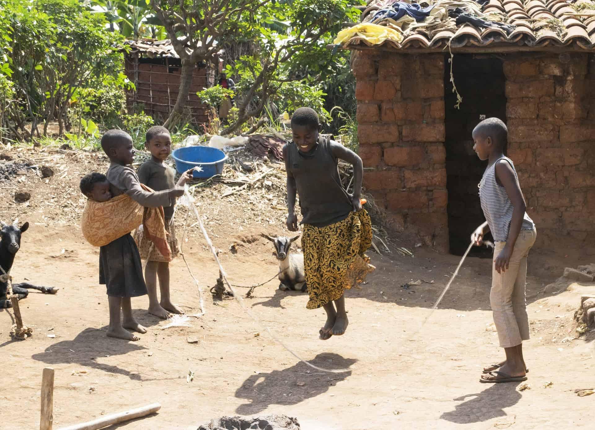 Bildung/Spiel Ruanda