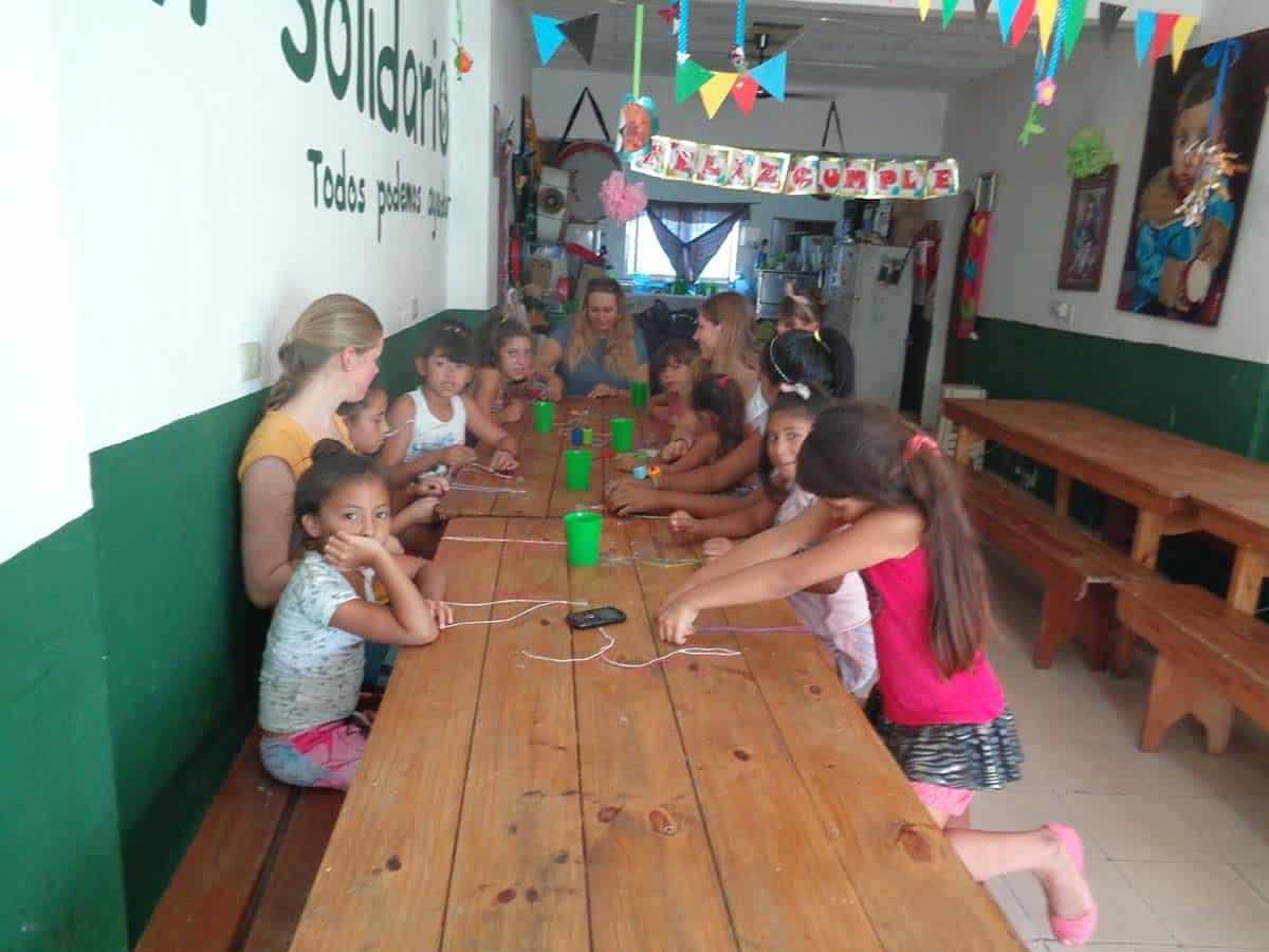 Chiara Gruchmann, Argentinien, Kindergarten