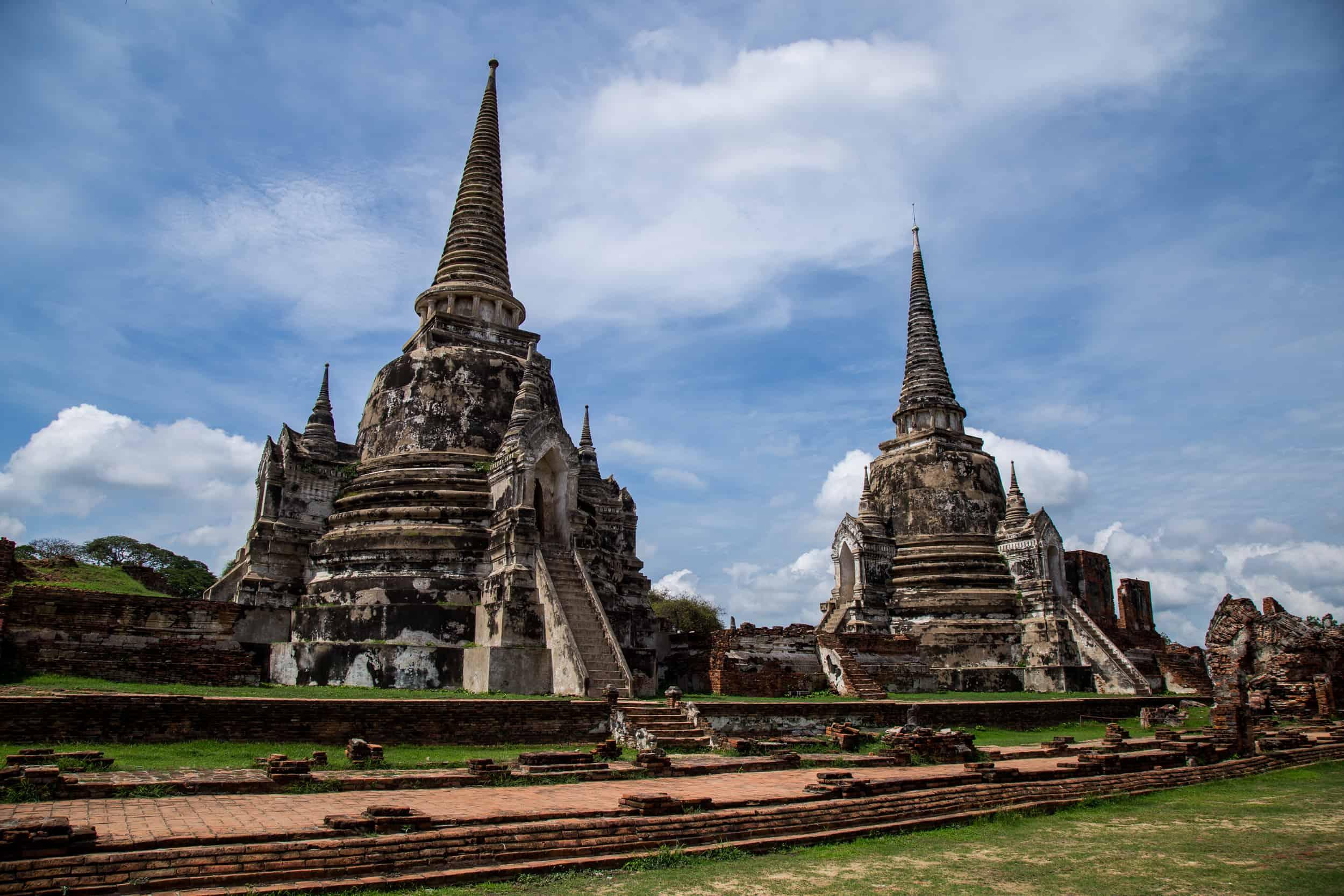 Discover, Ayutthaya Historical Park, Thailand