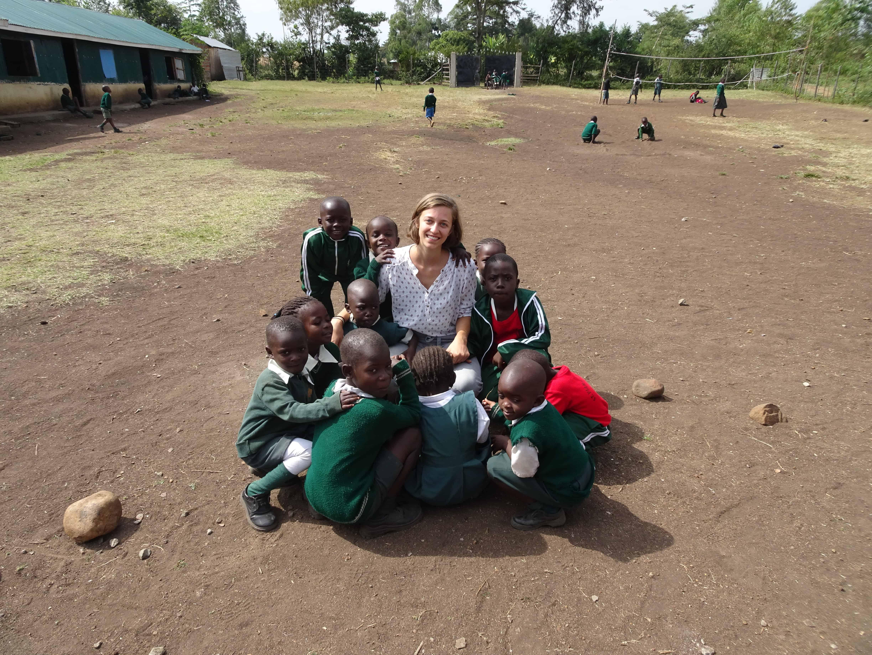 Eva Leitner, Kenia