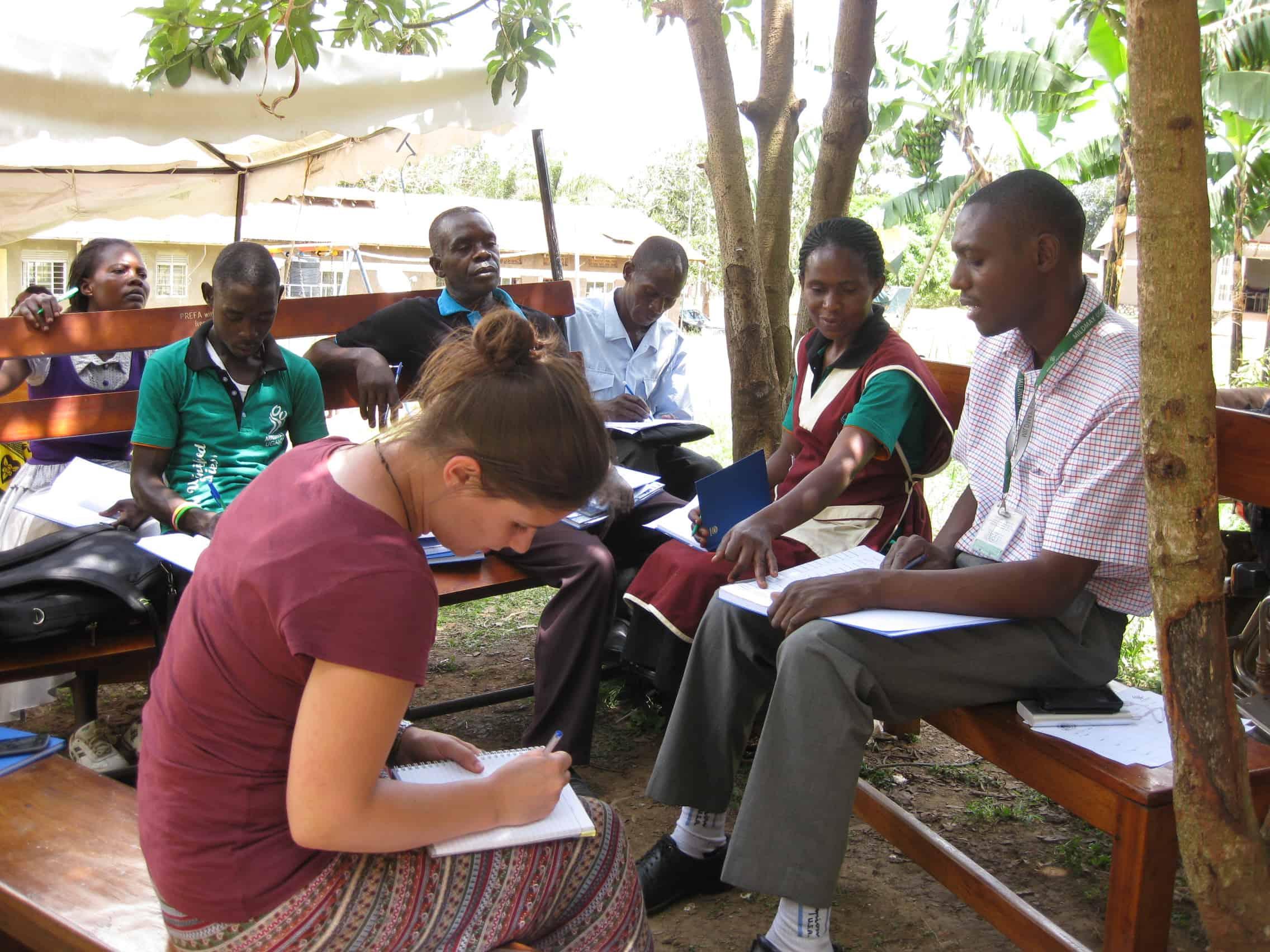 Julia Galler, Uganda