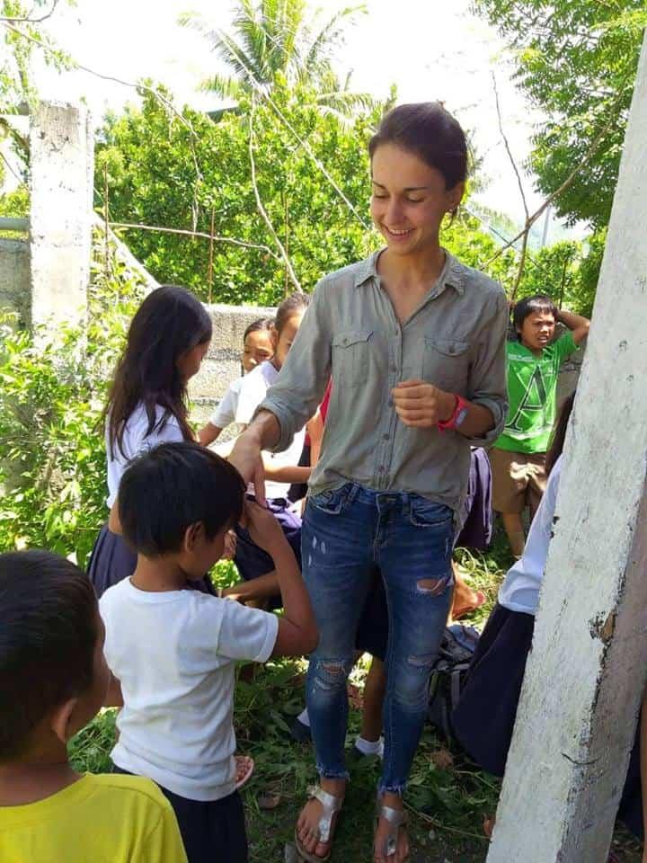 Katrin Ebetshuber, Philippinen
