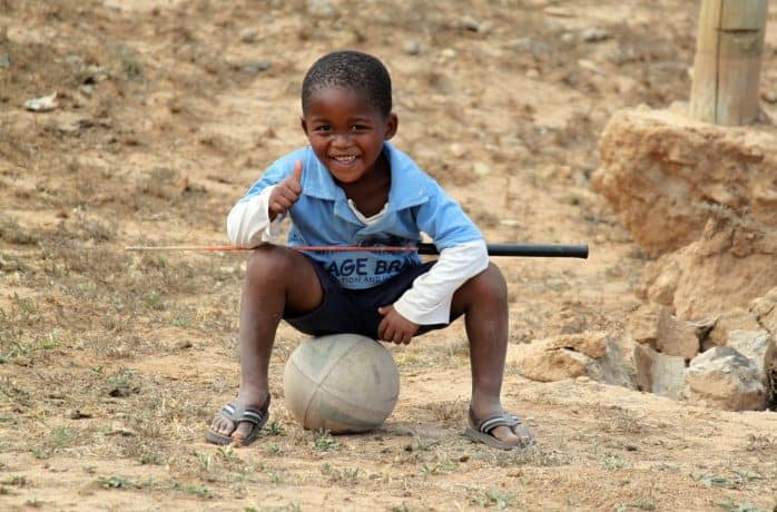 Kind, Südafrika