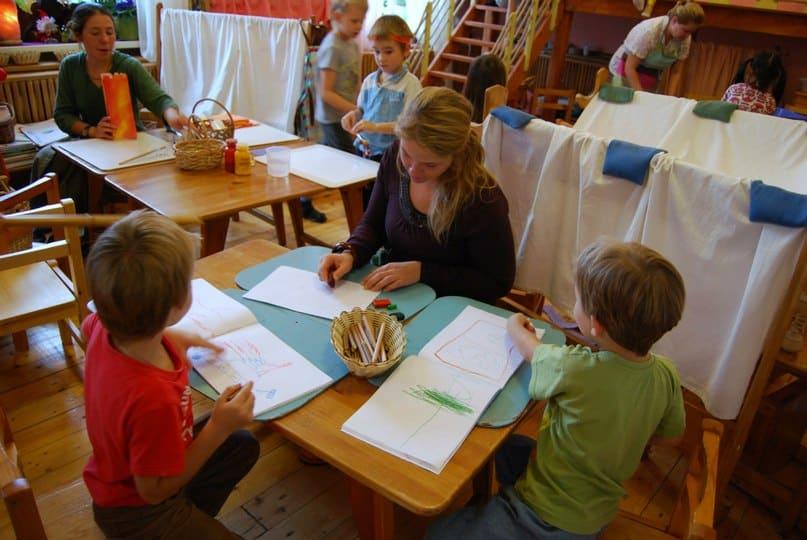 Kindergarten, Russland