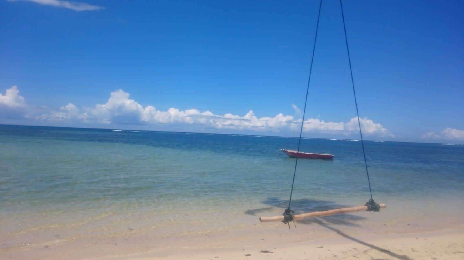 Lisa Hochsteger,Fidschi, Meer