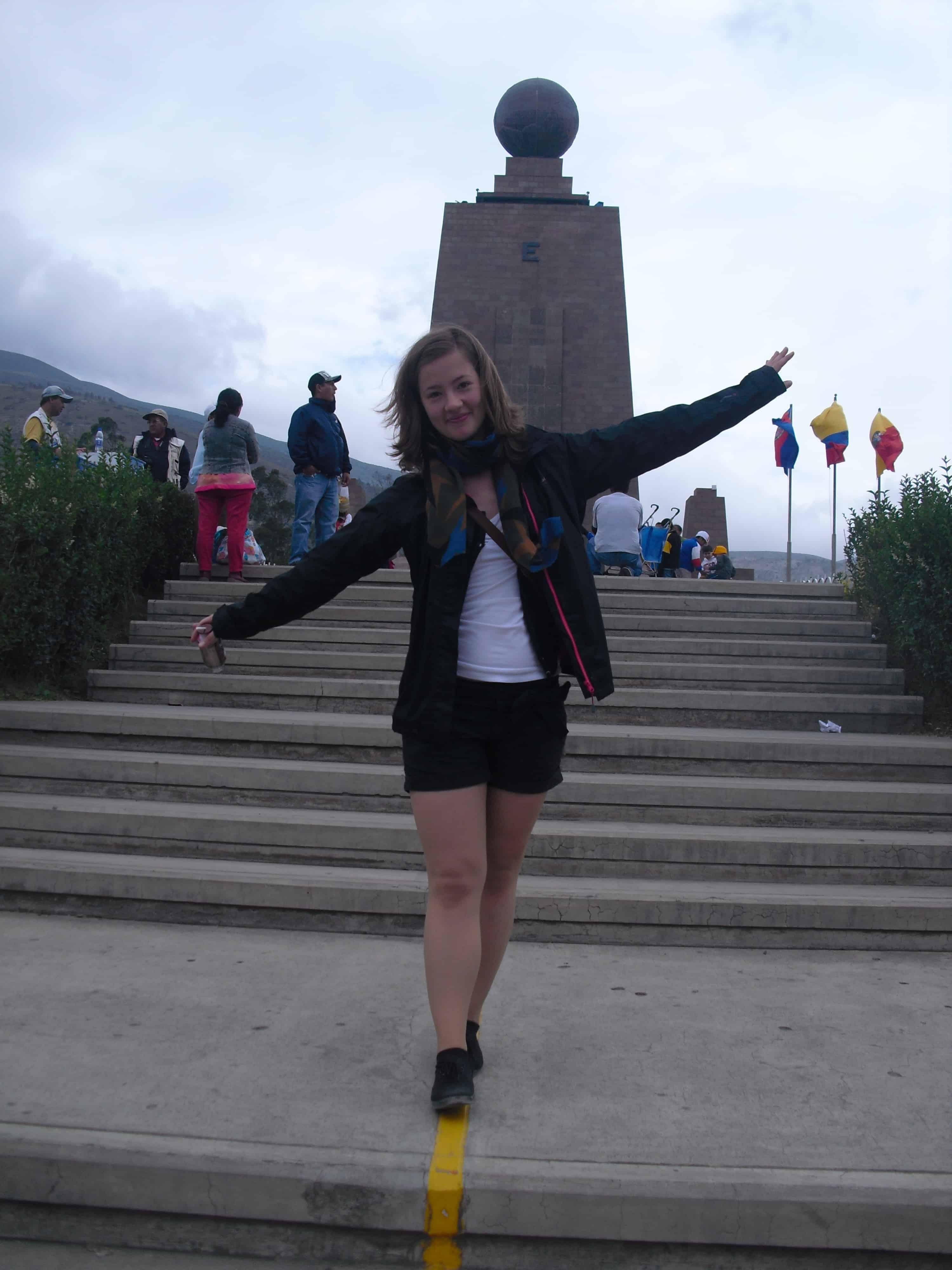Maria Reichel, Ecuador
