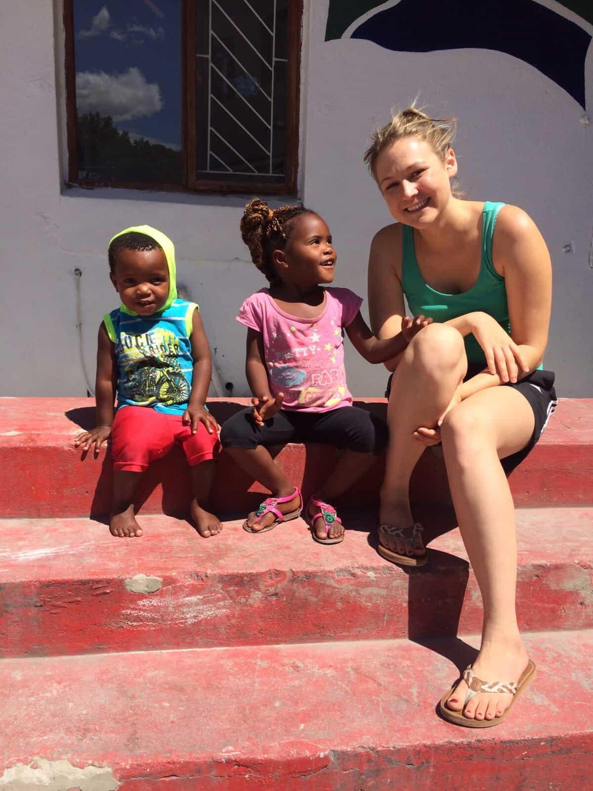 Maria Scheipl, Südafrika