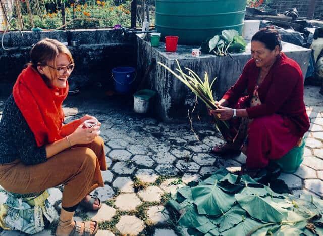 Marie Schönthaller, Nepal