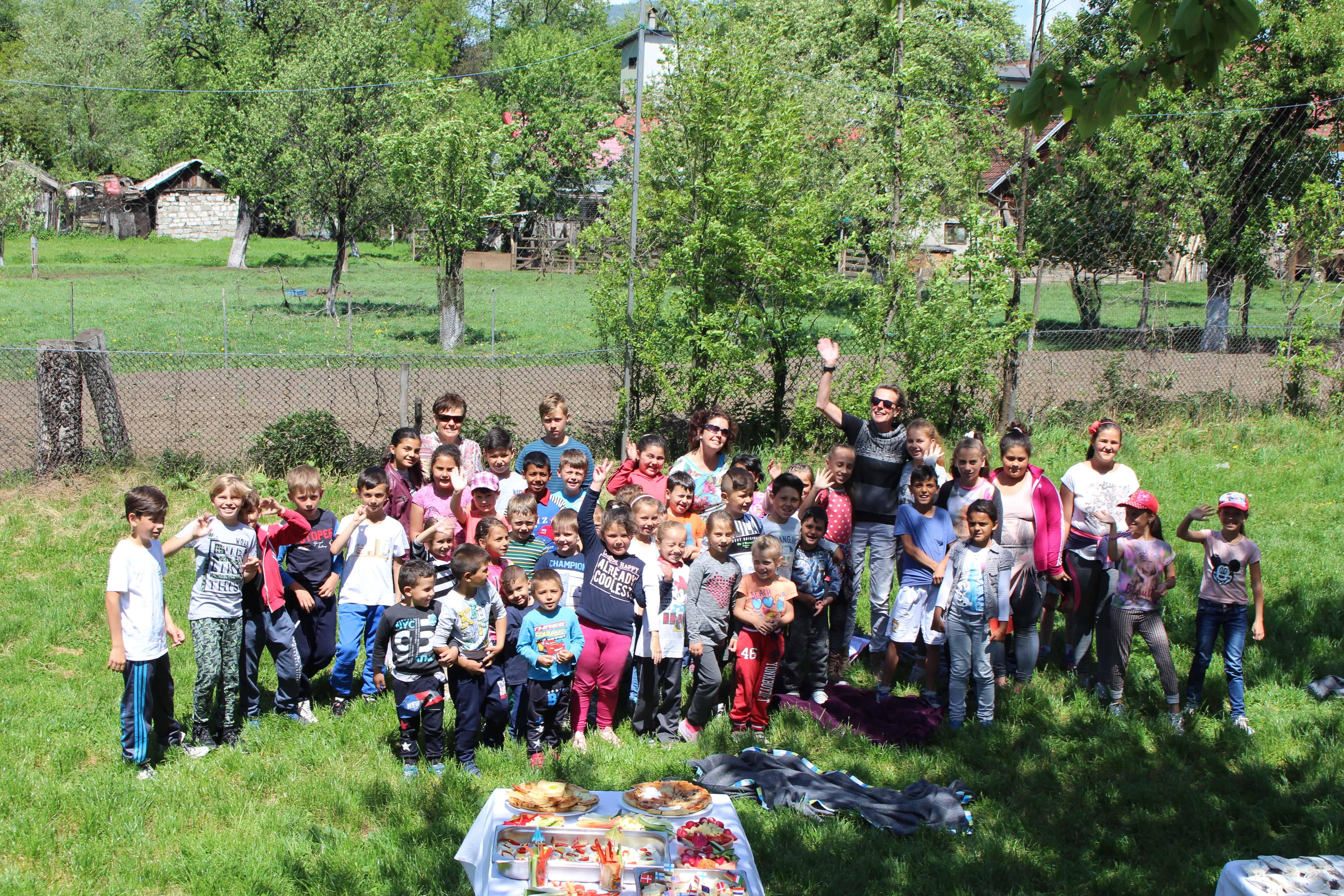 Mariliese Kudlich, Rumänien, Kindergruppe