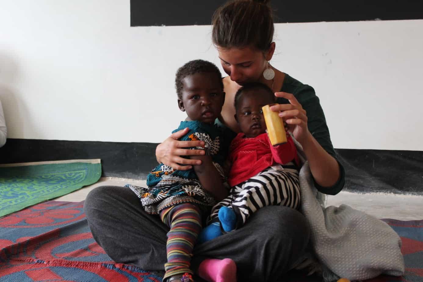 Maximiliane Mitterhauser, Tansania, Kinder