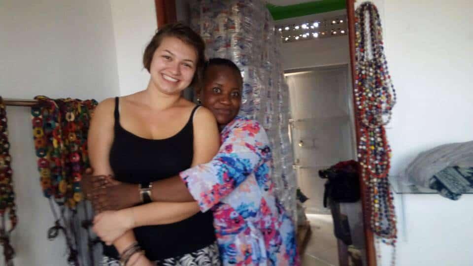 Nadina Szirota, Uganda, Betreuerin