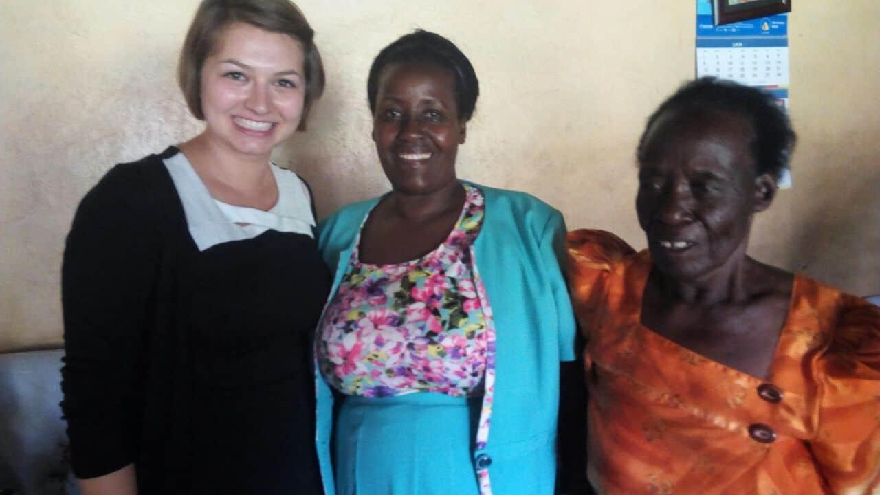 Nadina Szirota, Uganda, Familie