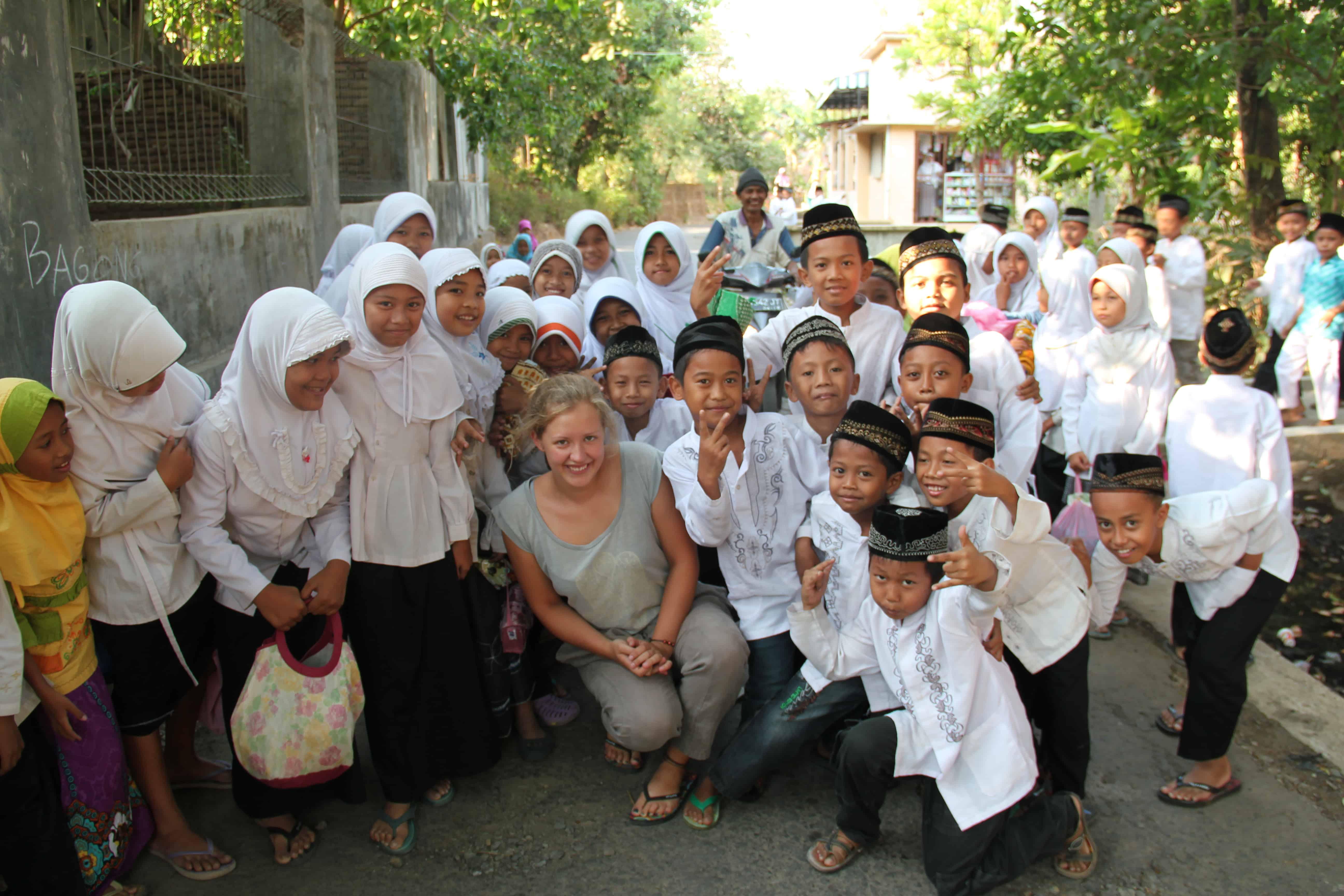 Romana Lührmann, Indonesien, Kindergruppe