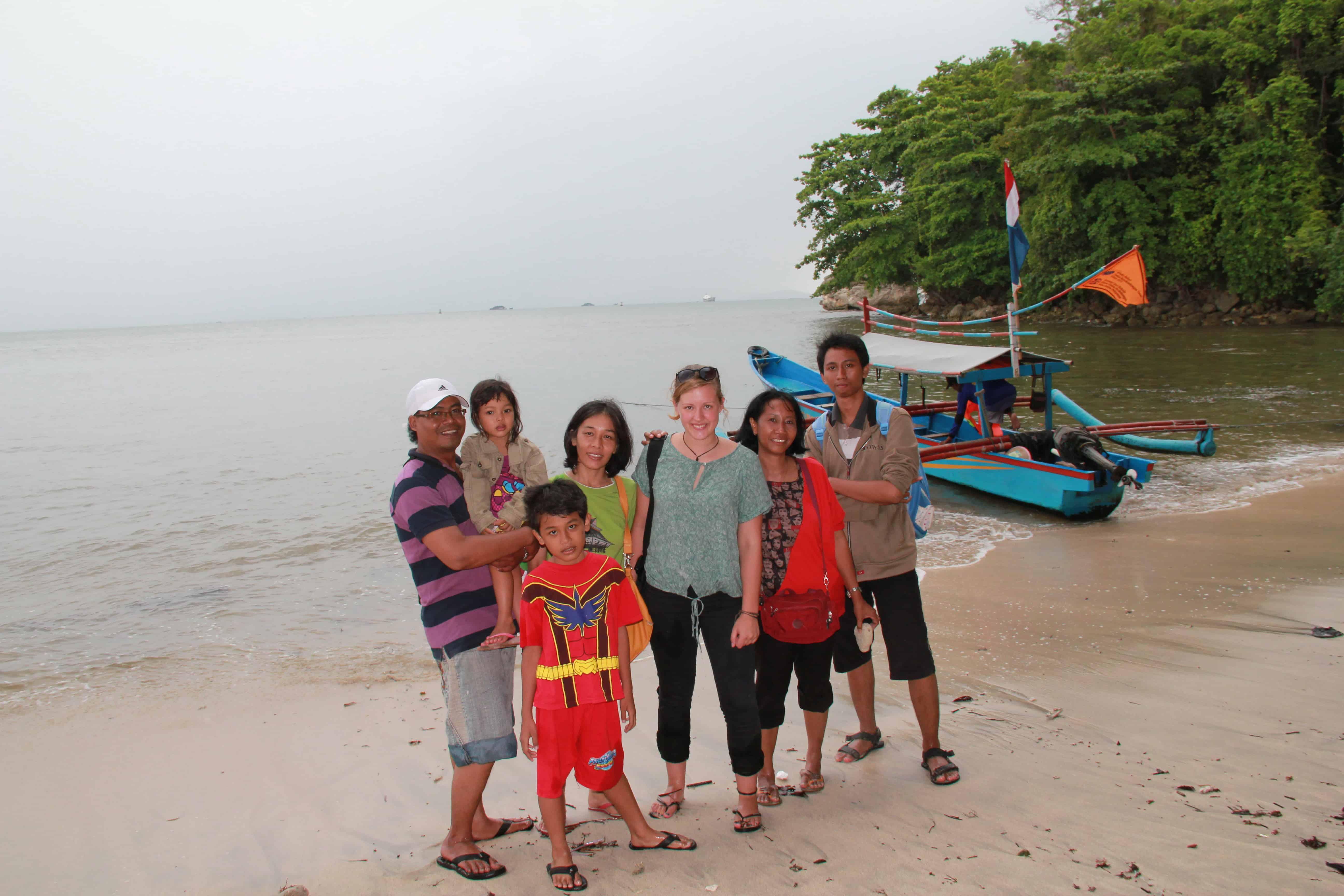 Romana Lührmann, Indonesien, Strand