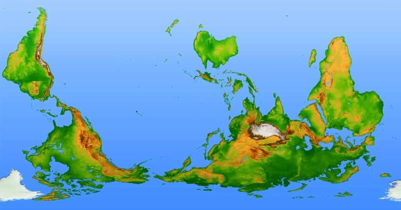 Grenzenlos Weltkarte