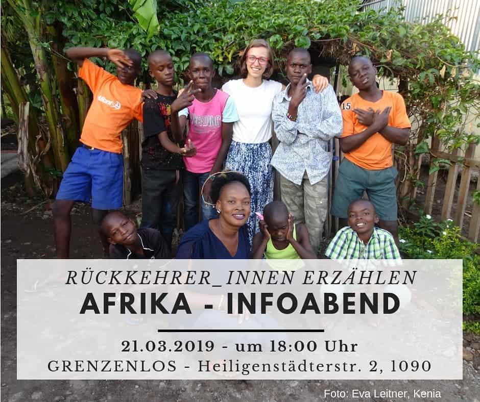 Infoabend Afrika, März 2019